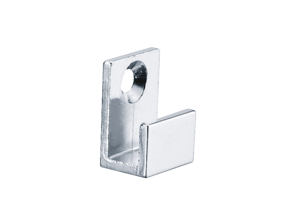 Mirror Brackets, 11 X 15 X 22 Mm, Chrome-plated Zamak