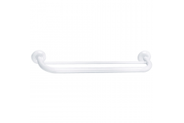 TRIOLO - Porte-serviettes 2 barres fixes, Blanc