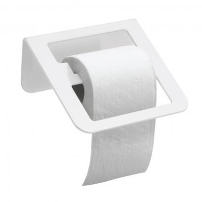 distributeur papier wc 144 x 180 x 83 mm aluminium epoxy blanc. Black Bedroom Furniture Sets. Home Design Ideas