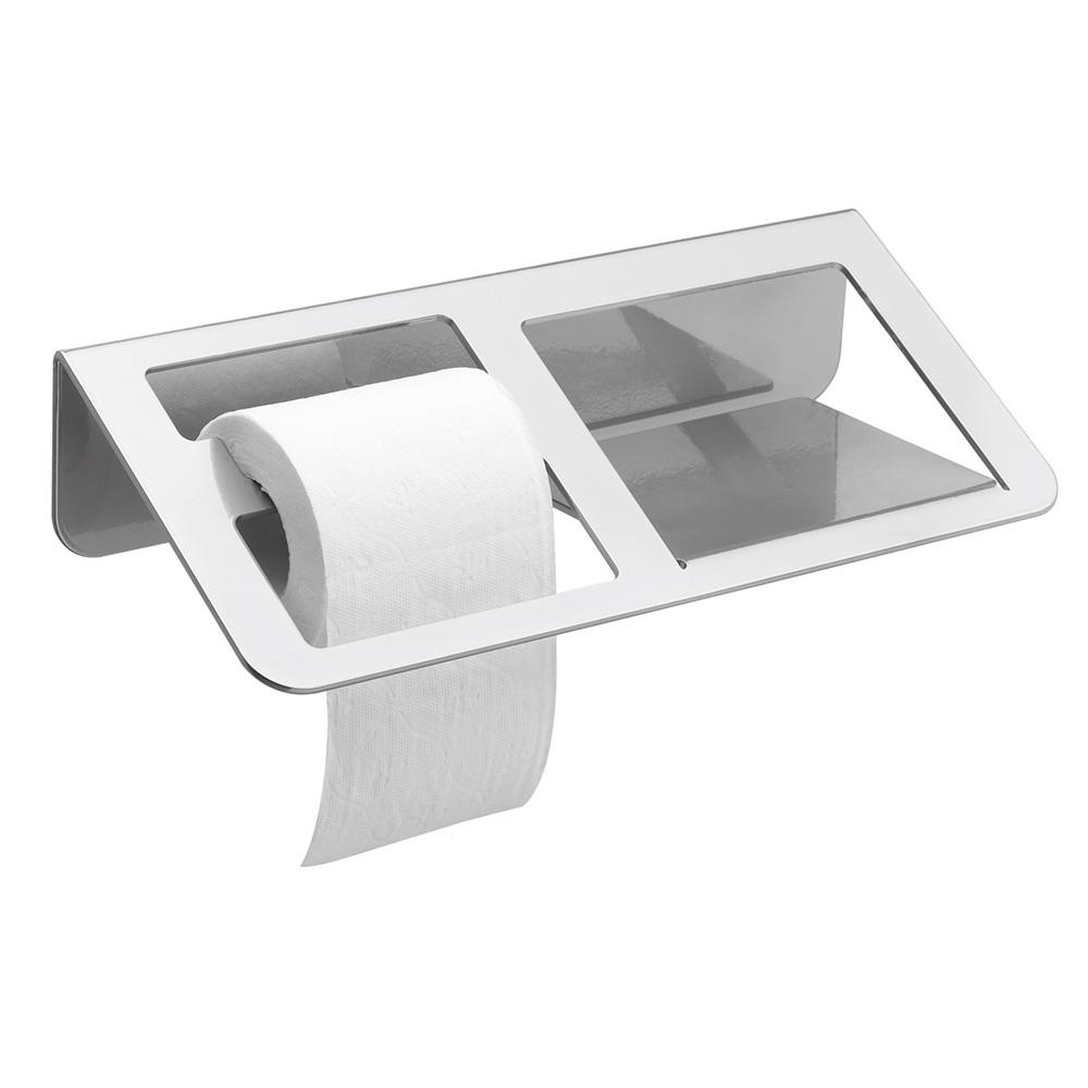 trinium distributeur papier wc avec tablette gris mat. Black Bedroom Furniture Sets. Home Design Ideas