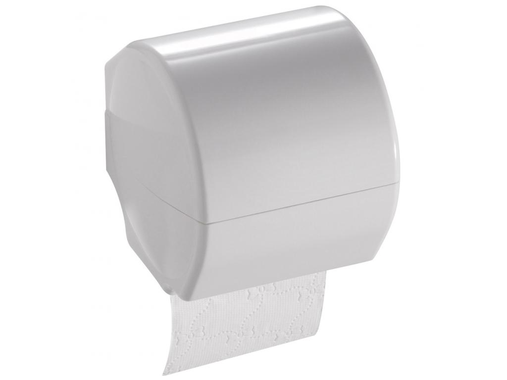 distributeur papier wc 143 x 143 x 143 mm r sine thermodurcie blanc. Black Bedroom Furniture Sets. Home Design Ideas