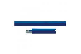 Longueur droite, 160 mm, Polyalu, Blanc & Bleu