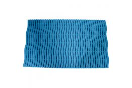 Shower mat, 15000 x 580 x 9 mm, Blue Polyethylene