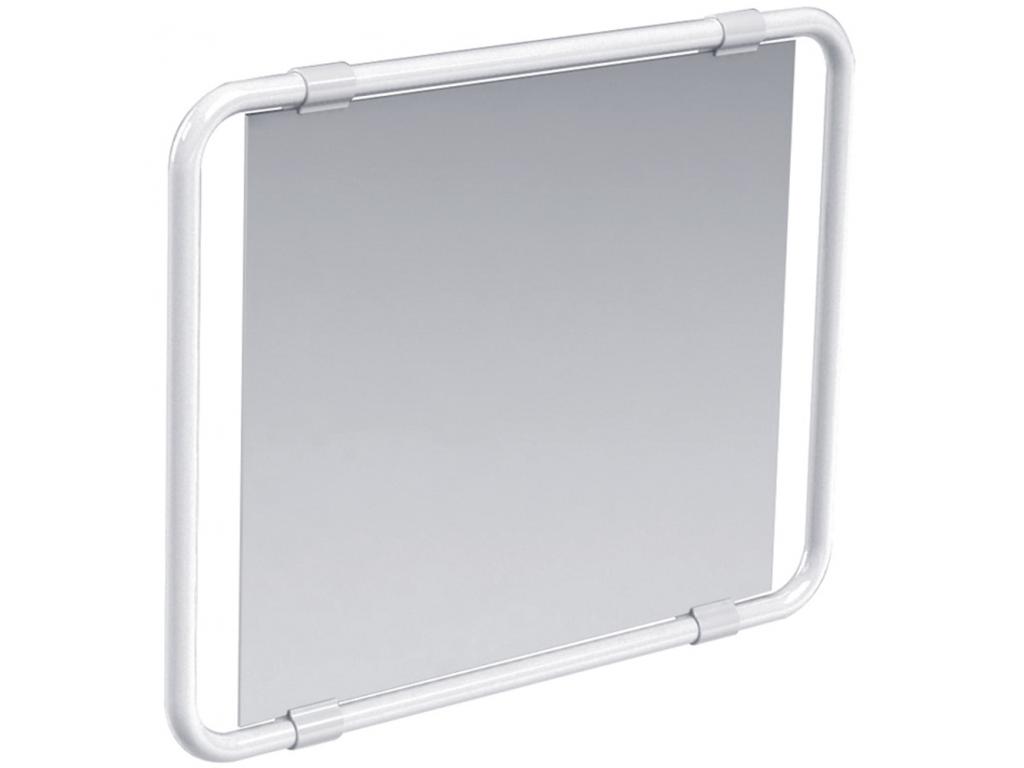Miroir orientable blanc for Miroir orientable