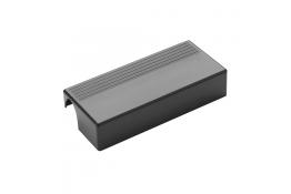 Porte-savon Arsis®, 71 x 162 x 35 mm, ABS Gris anthracite