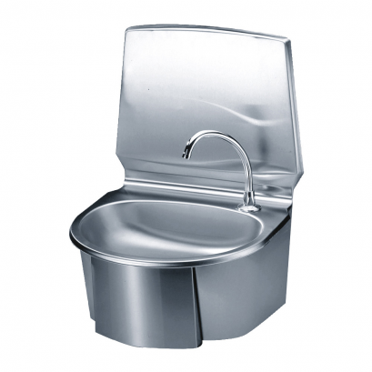 Wash Hand Basin With Oval Sink 580 X 430 X 370 Mm Bright