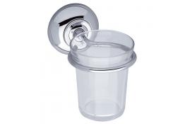 Glashouder, , Messing, Vernikkeld Verchroomd, Ø 8 mm