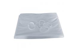 Cortina ducha 2000 x 900 mm, PVC Blanco, Bajo sin coser