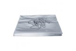Cortina ducha 1800 x 1200 mm, PVC Blanco, Anti Fuego