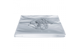 Cortina ducha 1800 x 1400 mm, PVC Blanco, Anti Fuego