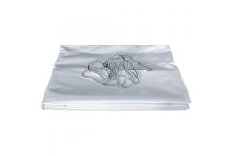 Douchegordijn, 1800 x 1400 mm, PVC, Wit