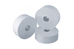 Toilet paper roll, 200 mètres, White Cotton, Ø 190 mm