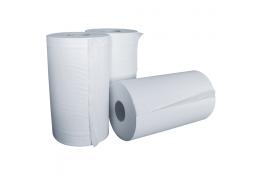 Papieren handdoekjes, 200 mm, Watpapier, , Wit, Ø 110/125 mm