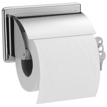 distributeur papier wc rouleau avec cl. Black Bedroom Furniture Sets. Home Design Ideas