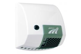 Sèche-mains 2100 W à bouton poussoir, ABS blanc