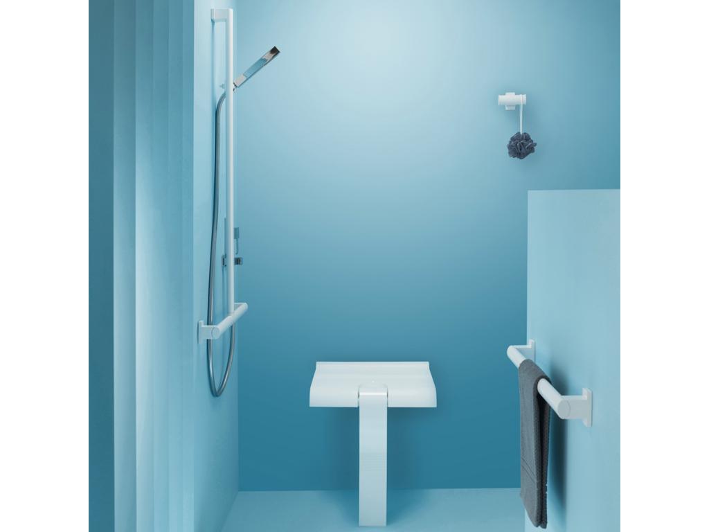 Arsis asiento ducha blanco for Asiento ducha