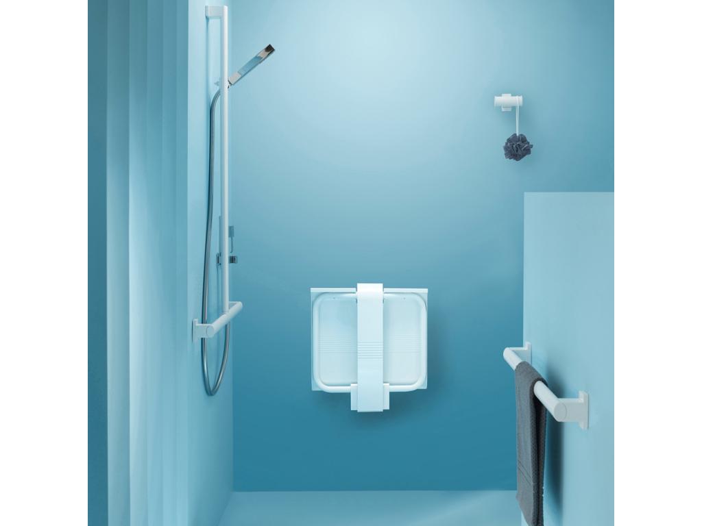 ARSIS shower seat, White