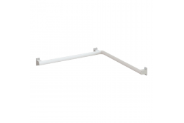 Barre d'angle 2 murs Arsis®, Aluminium Epoxy Blanc