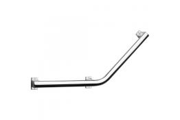 Barre coudée 135° Arsis®, 400 x 400 mm, Aluminium Anodisé, 3 PF