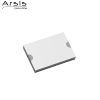 Rail & cache 98 mm, aluminium anodisé