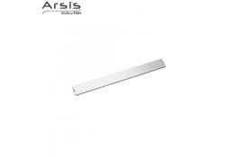 Riel & embellecedor 552 mm, aluminio anodizado