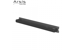 Removable grab bar 552 mm, anodised anthracite grey
