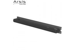 Removable grab bar 662 mm, anodised anthracite grey