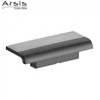 tablette de douche arsis fixer gris anthracite. Black Bedroom Furniture Sets. Home Design Ideas