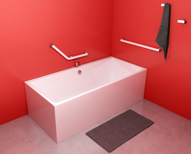 Conseils de pose accessoires salle de bain sanitaires for Implantation salle de bain