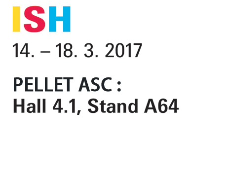 PELLET ASC will be present at the ISH trade fair from 14 to 18/03 in Frankfurt