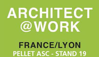 Demandez votre invitation gratuite au salon ARCHITECT@WORK à Lyon