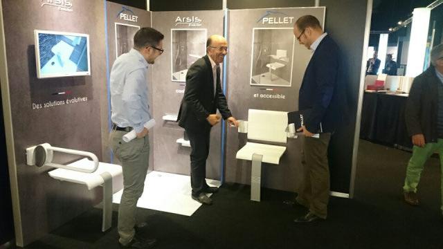 Lancement de la gamme Arsis Evolution au Salon Architect@Work - Lyon