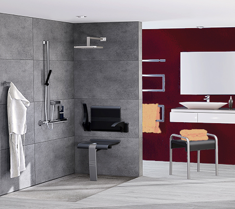 Design and robustness combined for the bathroom equipment !