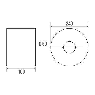 papier toilette rouleau 240 mm ouate. Black Bedroom Furniture Sets. Home Design Ideas