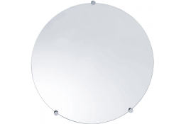 Ronde spiegel, , Glas, Gladde randen, Ø 500 mm