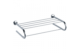 LOFT - Towel rack, Chrome and nickel-plated Brass and Steel