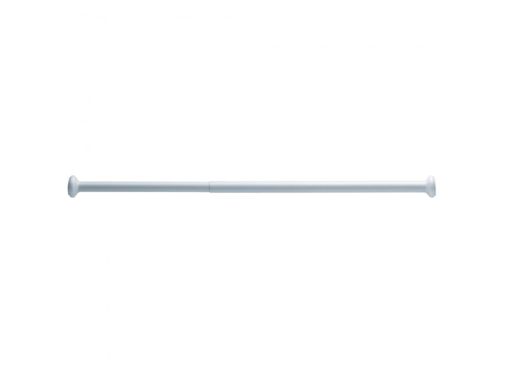 Tringle Extensible Sans Fixation porte-rideaux droit extensible, 750 à 1250 mm, Ø 25 mm