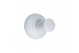 TRIOLO - Porte-peignoir 1 tête, Blanc