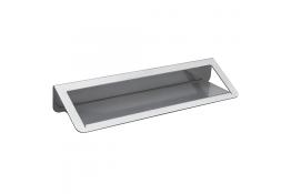Mensola lavabo, 144 x 550 x 82 mm, Alluminio Epossidico, , Grigio