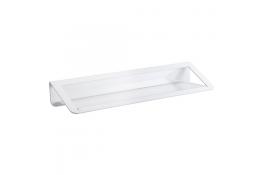 Mensola lavabo, 144 x 550 x 82 mm, Alluminio Epossidico, , Bianco