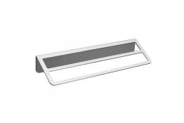 Portasalvietta doppio, 145 x 550 x 84 mm, Alluminio Epossidico, Grigio