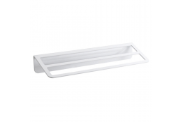 TRINIUM - Porte-serviettes 2 barres fixes, Blanc