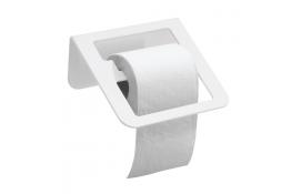 Portarotolo, 144 x 180 x 83 mm, Alluminio Epossidico, Bianco