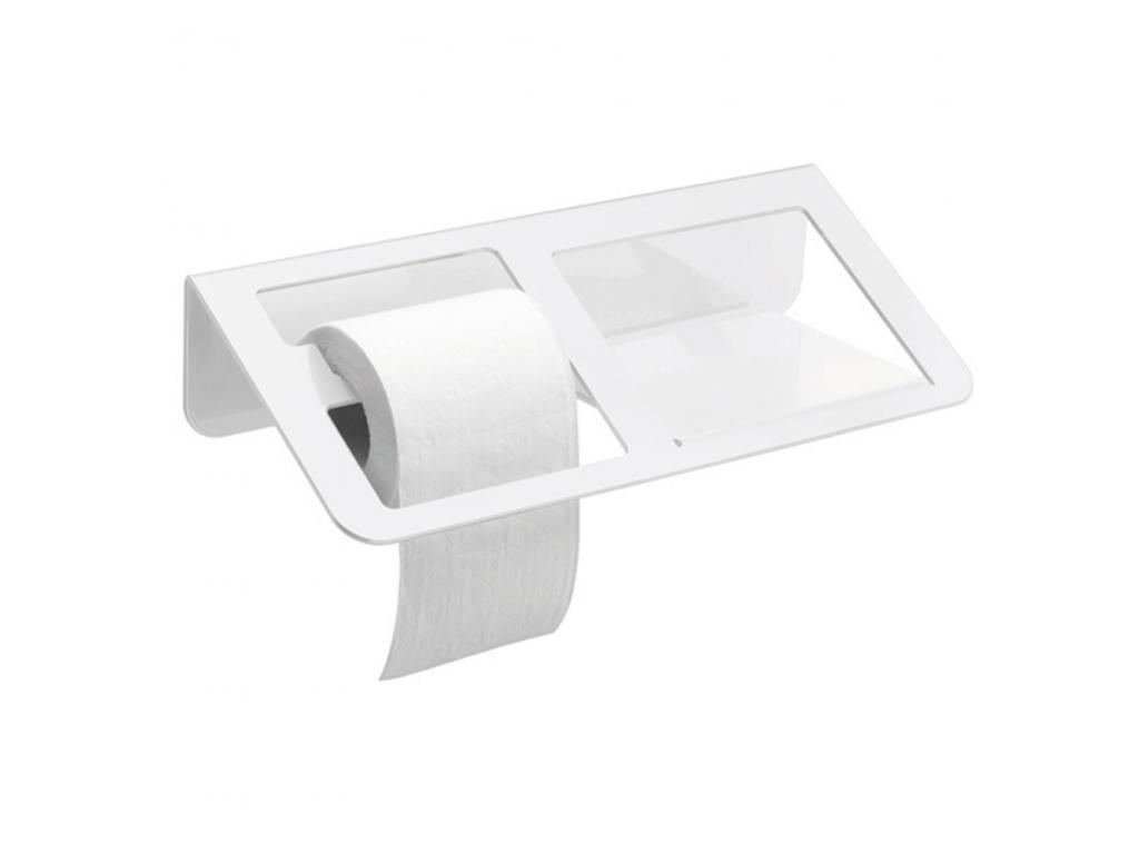 trinium distributeur papier wc avec tablette blanc. Black Bedroom Furniture Sets. Home Design Ideas