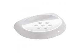 DUROFORT - Porte-savon en résine, Blanc