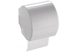 DUROFORT - Distributeur papier WC, avec couvercle, Blanc