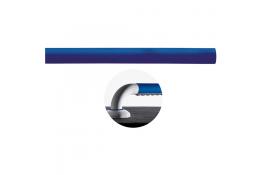 Rechte onderdeel, 160 mm, Polyaluminium, Blauw, Ø 33 mm
