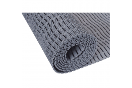 Shower mat, 15000 x 580 x 9 mm, Grey Polyethylene