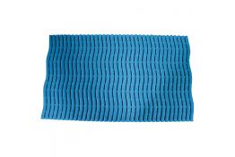 Shower mat per linear meter, Blue Polyethylene
