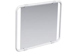 Specchio reclinabile, Alluminio Epossidico Bianco